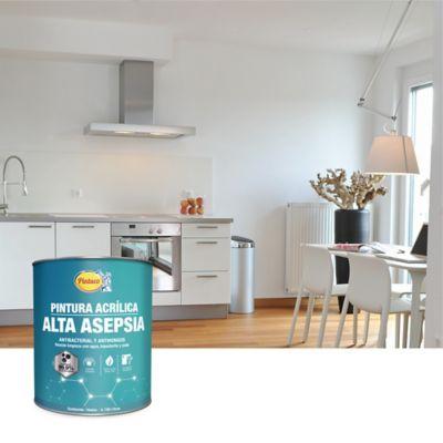 Pintura Acrílica para Interior Alta Asepsia 1 Galón Blanco