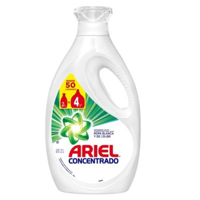 Detergente Liquido Ropa Ariel Regular x2000ml