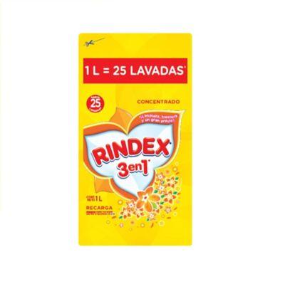 Rindex Concentrado Liquido  Pouch x1000ml x8 Litros