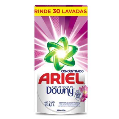 Ariel Liquido Toque de Downy Pouch x1200ml x8 Litros