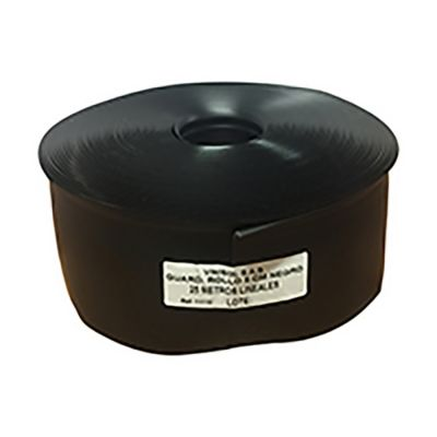 Guardaescoba PVC 8 cm Rollo x 25Metro Lineal Negro