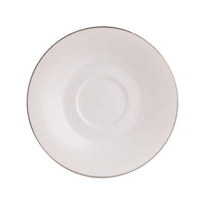 Plato Para Taza Cafe 14.9Cm Silver Ring