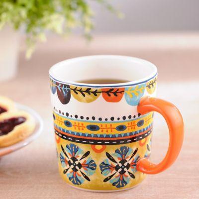 Mug Orange 10x13x10.5cm