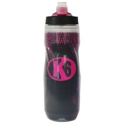 Botellas para Agua de Plástico Deportivas Termo Agua 600Ml Color Fucsia