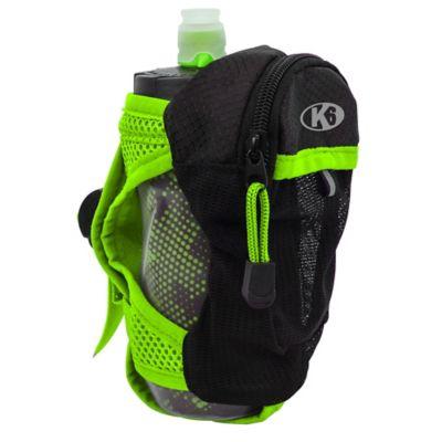 Bolso de Mano para Correr con Botella de Agua 350Ml Running Verde