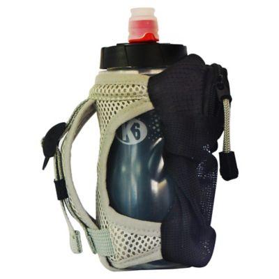 Bolso de Mano para Correr con Botella de Agua 350Ml Running Color Gris