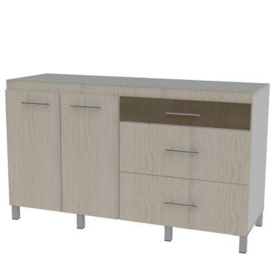 Mueble Para Cocina Modular Inferior Izquierdo Miro Rh 92 cm Alto x 147 cm Ancho x 50 cm Profundidad Chantilli Nuez