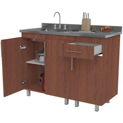 Mueble Para Cocina Inferior Colombia 92 cm Alto x 122 cm Ancho x 52 cm Profundidad Cedro