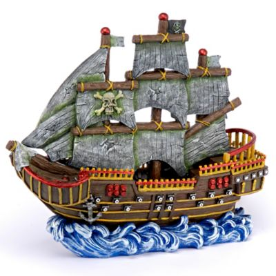Decoración para Acuario Pirate Wave Runner