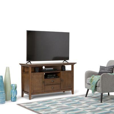 Mueble para TV Redmond 48x81x137 Rústico