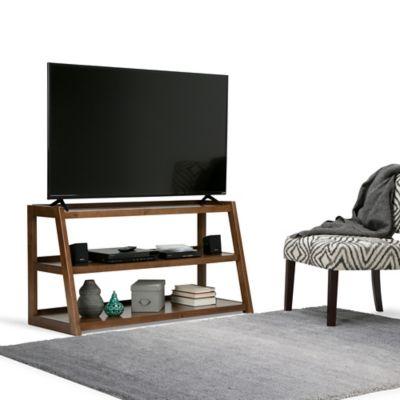 Mueble para TV Sawhorse 51x66x122 Café