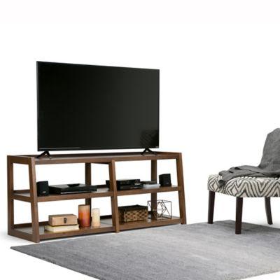 Mueble para TV Sawhorse 51x66x152 Café
