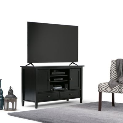 Mueble para TV Warm Shaker 46x74x120 Negro