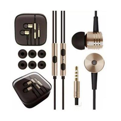 Audífonos Metal Tipo Xiaomi Dorado