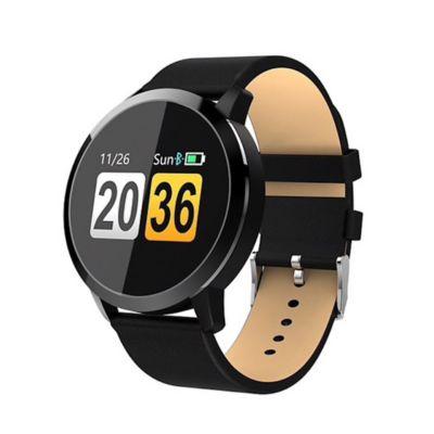 Smartwatch Podómetro Ritmo Cardiaco Negro Q8