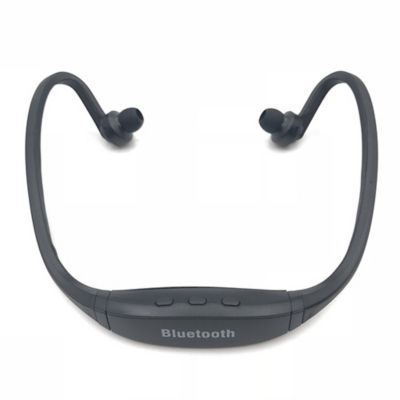 Audífonos Deportivo Inalámbrico Bluetooth 3.0 Micrófono Negro