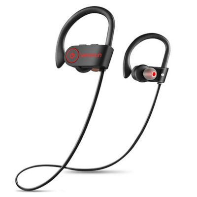 Audífonos Bluetooth Micrófono Impermeable IPX7 Negro