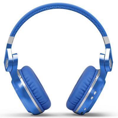 Audífonos Tipo Diadema Inalámbrico T2S Hurricane Azul