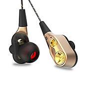 7685dc36d07 Audífonos Profesionales V3 Auricular con Micrófono Dorado