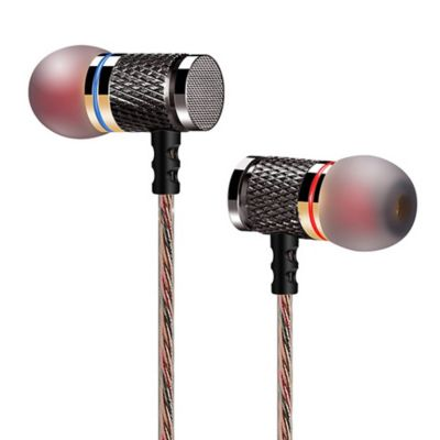 Audífonos Profesionales Estéreo sin Micrófono 3.5mm Negro KZ ED2