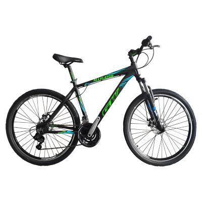 Bicicleta Alligator Talla M Rin 27,5 pulgadas Frenos Hidráulicos 24 Velocidades Negro - Azul