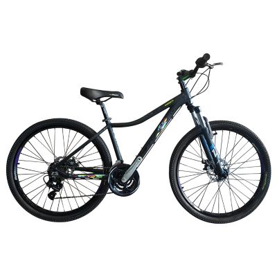 Bicicleta Deer Talla S Rin 27,5 pulgadas Frenos Hidráulicos 24 Velocidades Negro