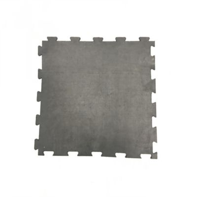 Tapete Liviano Liso 50x50cm Tráfico Pesado Negro x 8 Unidades