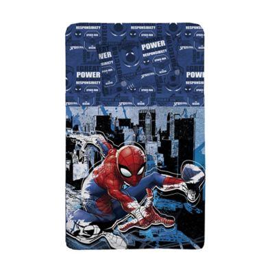 Juego de Sábana Semidoble 150 Hilos Spiderman City