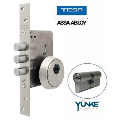 Cerradura Auxiliar Alta Seguridad Eco Acero Inoxidable