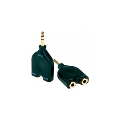 Adaptador Dhpa170 2 Jack 6.3mm Plug 6.3mm