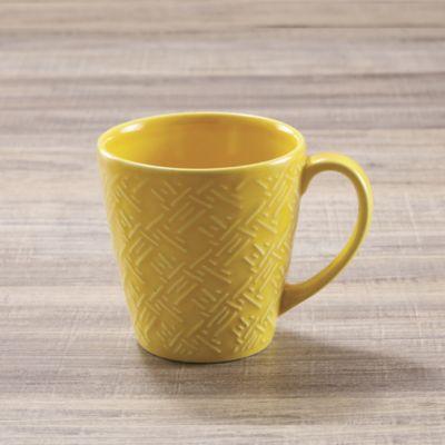 Mug 374cc Amarillo Amazonas