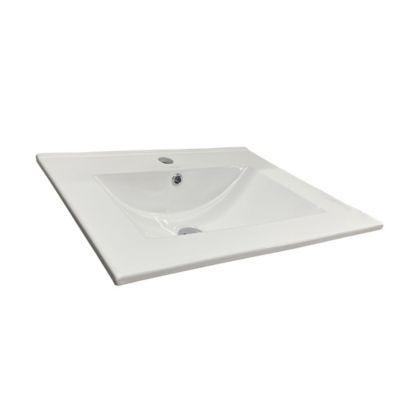 Lavamanos Farzi 60 Square 61x47x18cm Blanco