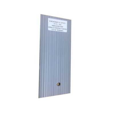 Perfil Fondo Liso Para Instalar Membranas en PVC 70 Unidades x Mt
