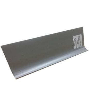 Perfil Borde con Pestaña Para Instalar Membranas en PVC 60 Unidades x Mt
