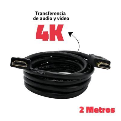 Cable HDMI De Alta Definición 4K 2m