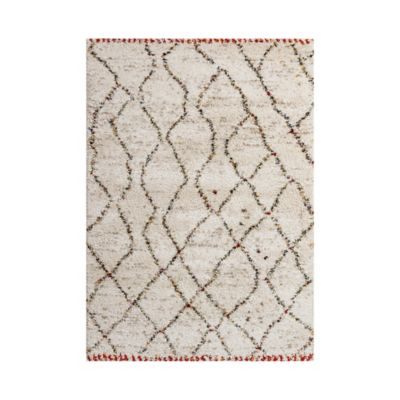 Tapete Sherpa Textura 120x170 cm Beige