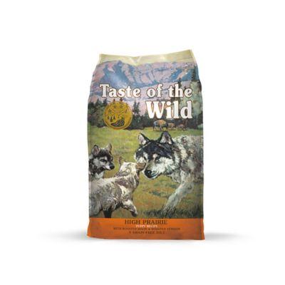 Alimento Seco para Cachorros de Bisonte y Verduras 14Lb