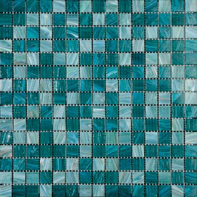 Mosaico Malla Multi Teal 32.7x32.7cm Caja 11m2 aprox Beige