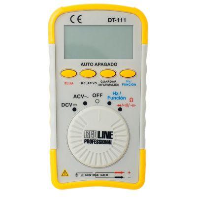 Multimetro Digital 600V 0.4Amp Redline