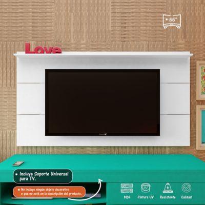 Panel Slim para TV de Hasta 55 Pulgadas Blanco