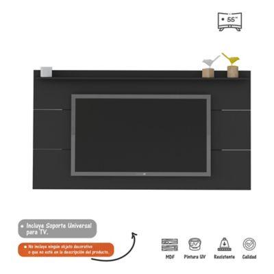 Panel Slim para TV de Hasta 55 Pulgadas Negro
