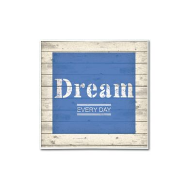 Cuadro Decorativo Vintage Dream 30x30x2 cm