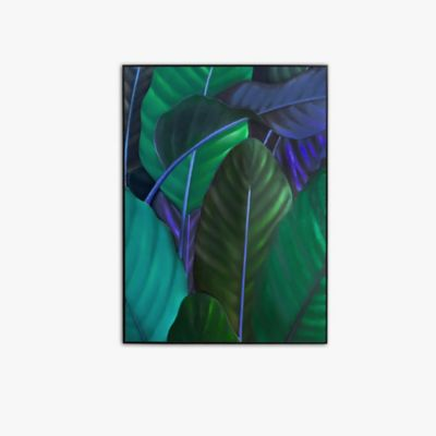 Retablo Hojas Verdes 40x60x3 cm