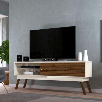 Mesa para TV Frizz 1.8 Blanco/Savana