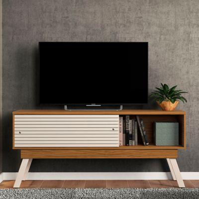 Mesa para TV Frizz 1.5 Natural/Blanco