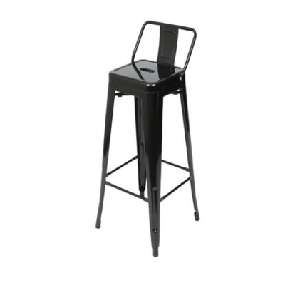 Silla Bar Tolix Negro Brillante