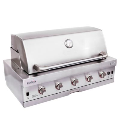 Asador a Gas 5 Quemadores + Lateral Medallion Series