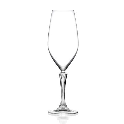 Set x6 Copas de Champaña de Cristal Glamour 440ml Italia