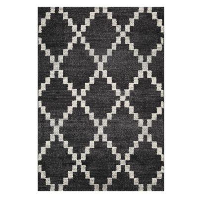 Tapete Doux Shaped 67x120 cm Gris