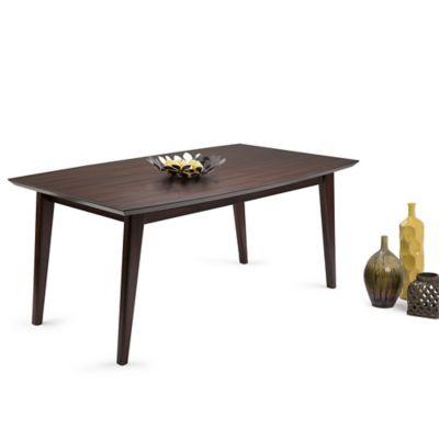 Mesa para Comedor 102x168x75 Café